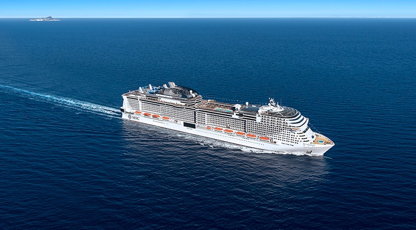 MSC starts selling for Grandiosa